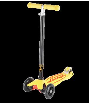 "Трехколесный самокат ""Lamborghini"" желтый"
