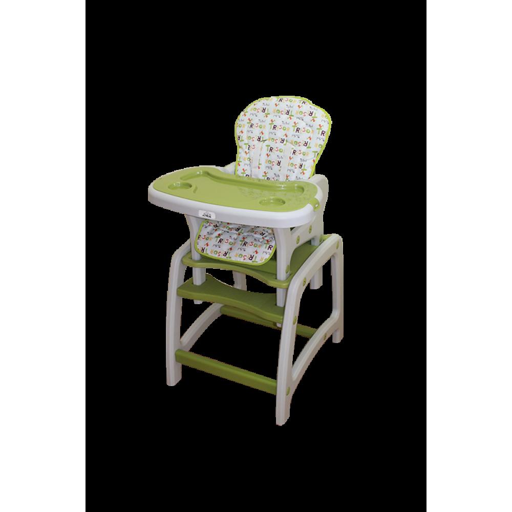 стул для кормления трансформер Actrum Dc01 2в1 фисташковый купить в