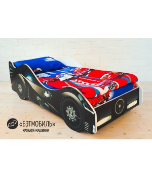 """Детская кровать-машина """"Бэтмобиль 2"""""""