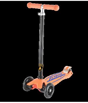 "Трехколесный самокат ""Lamborghini"" оранжевый"