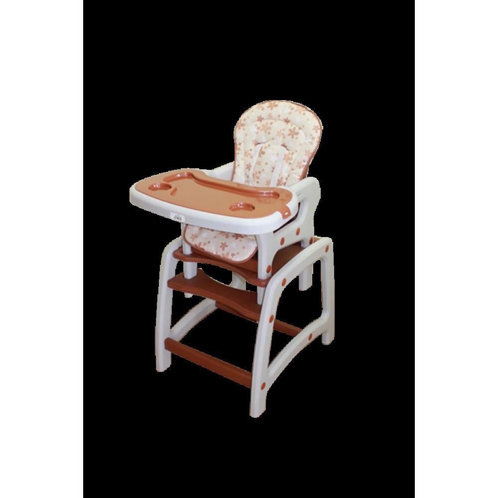стул для кормления трансформер Actrum Dc01 2в1 коричневый купить в