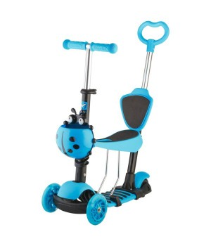 Самокат-беговел Scooter 3 in 1  голубой