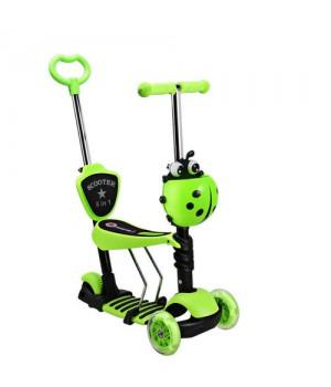 Самокат-беговел Scooter 3 in 1  зеленый