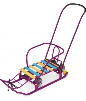 Санки Ника Тимка 5 универсал фиолетовый