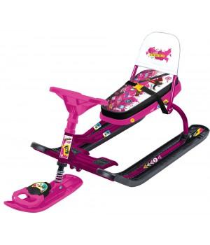Снегокат Ника Тимка спорт 4 Pink