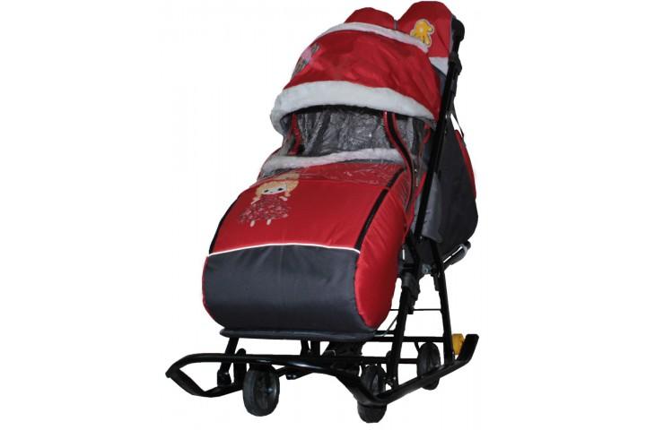 Санки-коляска Galaxy kids 1-1 plus