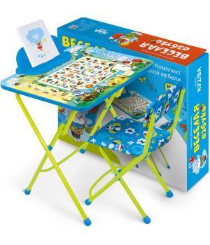 Комплект детской мебели «Веселая азбука» (арт. КУ2/ВА)