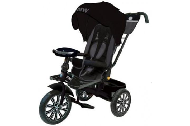 Детский трехколесный велосипед BMW с поворотным сиденьем