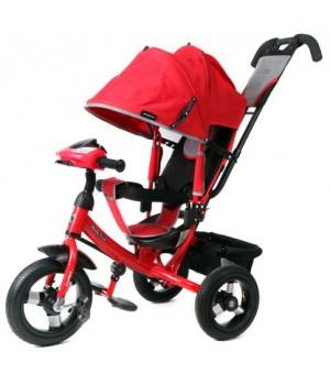Трехколесный велосипед Moby kids Comfort 12х10 AIR Car
