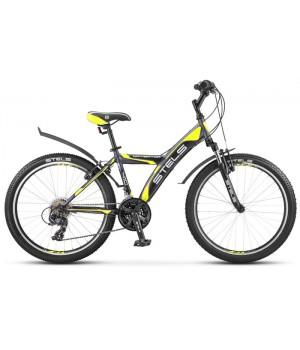 Подростковый велосипед Stels Navigator-410 V 24 18-sp V040