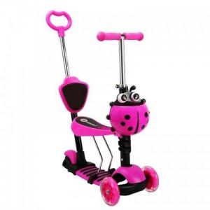 "Самокат-беговел ""Scooter 5 in1""  розовый"