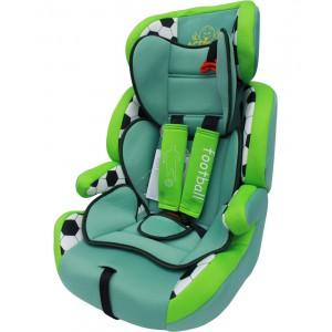Автокресло группа 1/2/3 (9-36 кг) Actrum DL-515 Football Green