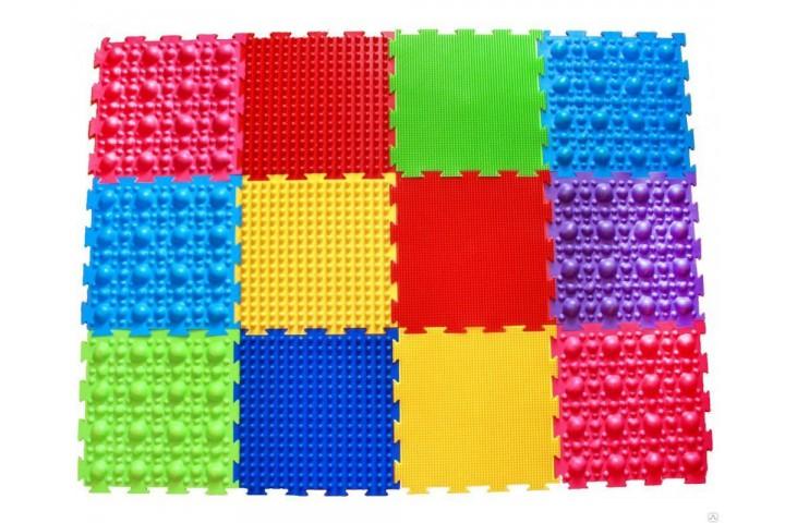 Массажные детские коврики ОРТО 28 шт
