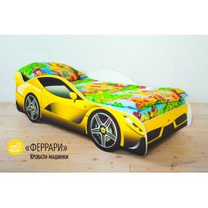 """Детская кровать-машина """"Ferrari"""""""