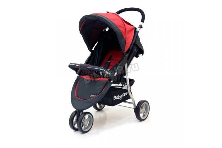 Коляска прогулочная Baby Care Joger Lite (Красный)