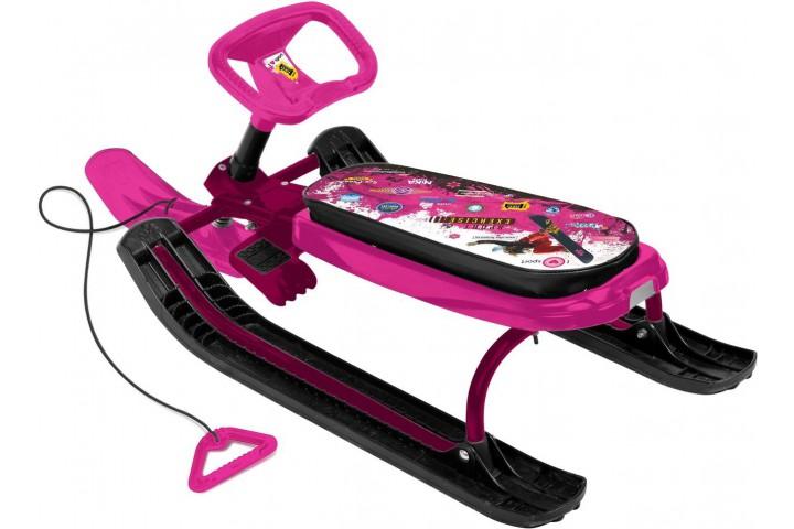 Снегокат Ника Тимка спорт 3 Pink