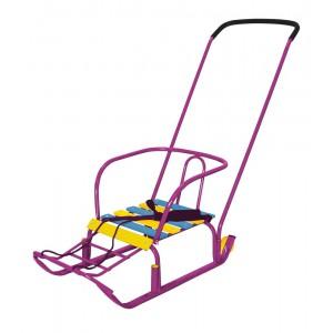 Санки Ника Тимка 3+ корпусные фиолетовый