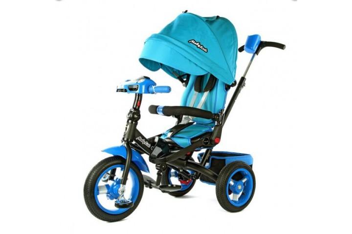 Велосипед Moby Kids Leader-2 с фарой и поворотным сиденьем