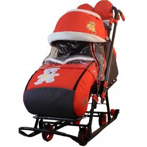 Санки-коляска Galaxy kids 1-2