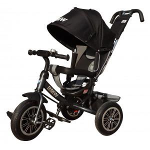 Детский трехколесный велосипед BMW с надувными колесами арт. BMW-N1210