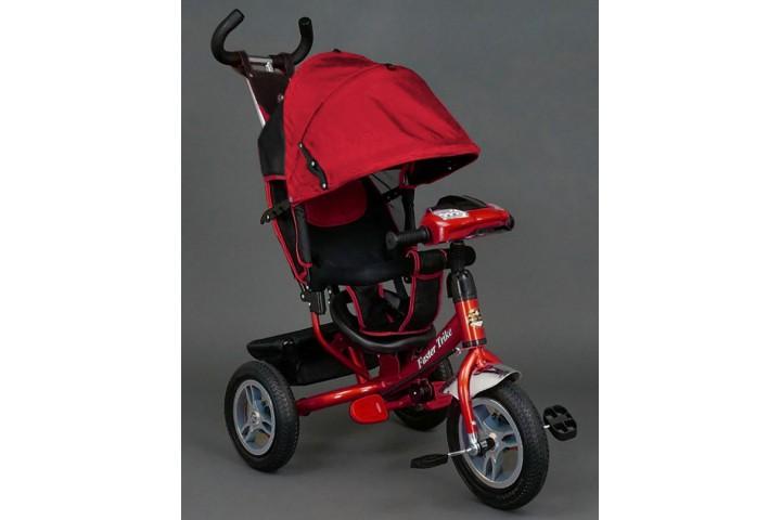 Велосипед Faster trike надувные колеса 12/10 со светомузыкальной панелью